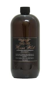 Euclove Handwash Lavender & Rose Geranium 1 litre refill