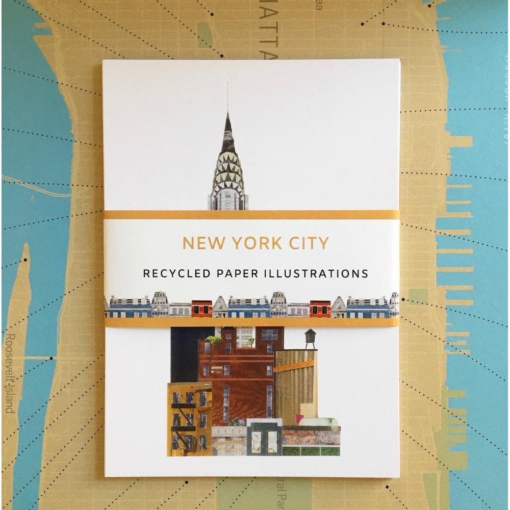 Soodle Street Illustrations New York City Postcard Set