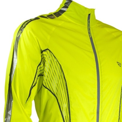 Volta High Viz Packable Jacket, Road