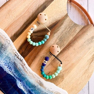 Cheeky Toes™ Cheeky Dummy Clip I TROPIC Collection