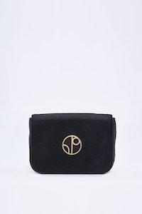 1 People New York Piñatex® Belt Bag in Truffle Black