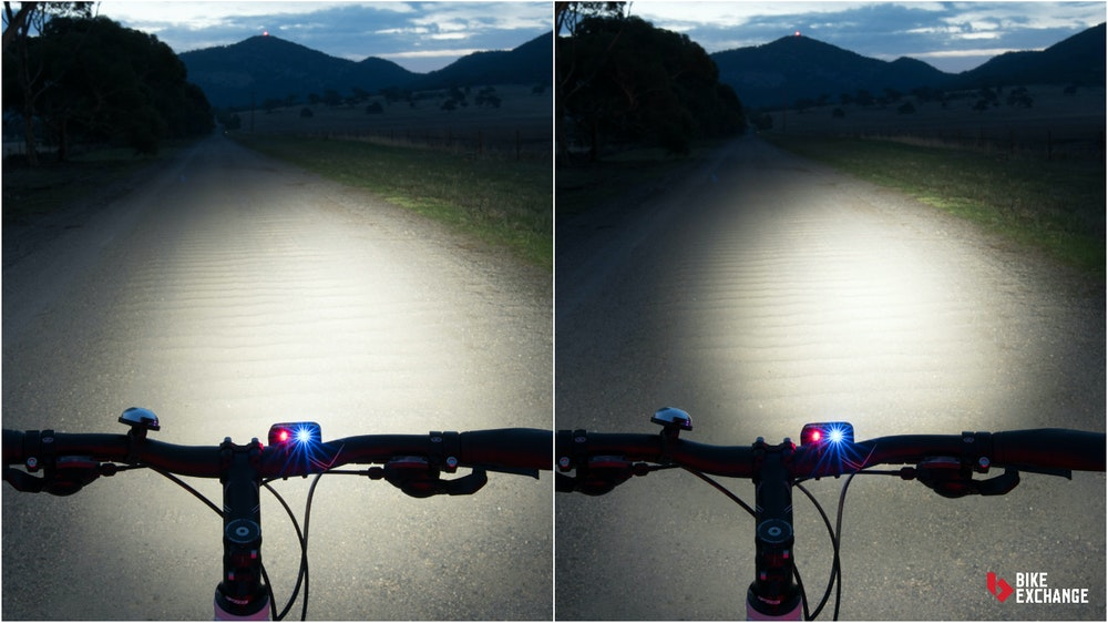 bicycle light buyers guide beam angle comparison BE