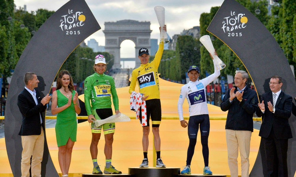 Froome Wins his Second TDF + Gorilla Crowned King of the Champs-Élysées