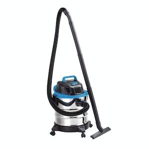 Vacmaster Vacuum 20 Litre 1250 watt Wet / Dry  Stainless Tank 1.5m Hose