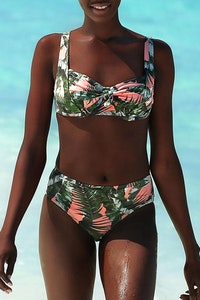 Styelle Swim Lily | Floral Balconette Top