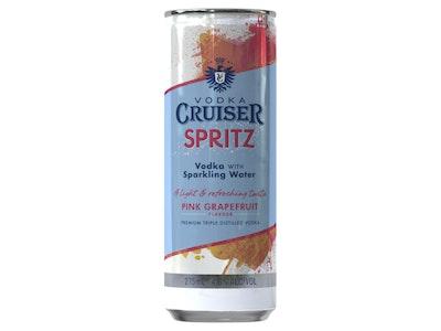 Vodka Cruiser Spritz Pink Grapefruit Can 275mL 4 Pack