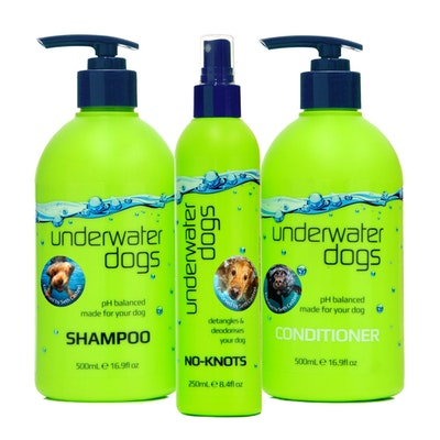 Underwater Dogs Tri-Deal No-Knots Detangler