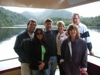 Strahan to Hobart - Ross & Jo, Bill & Carol, Dave & Rose tow their caravans the Scenic Tasmanian route