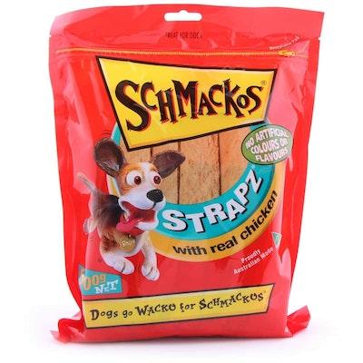 Schmackos  Chicken Strapz  Dog Treats