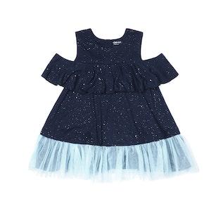 OETEO Australia EASYEO Ocean Waves Sparkling Toddler Romper Dress