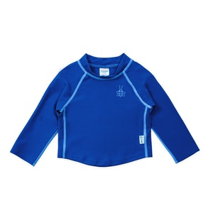green sprouts Long Sleeve Rashguard Shirt-Royal Blue