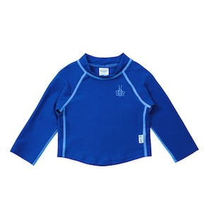 green sprouts Long Sleeve Rashguard Shirt-Royal Blue