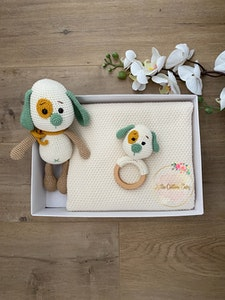 Baby Gift Set | Green Puppy