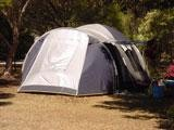 Tent on powered site BIG4 Port Willunga Tourist Park