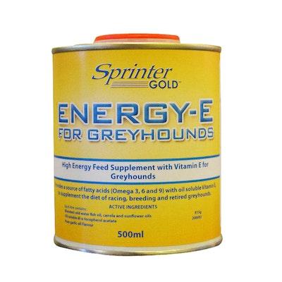 Sprinter Gold Energy E Oil High Energy Greyhound Supplement - 4 Sizes