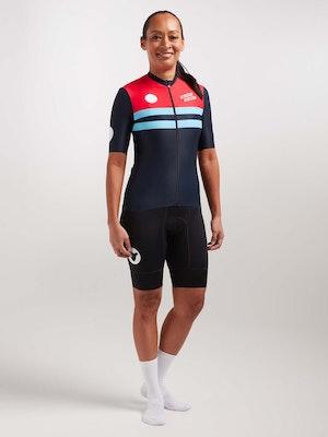 Black Sheep Cycling Women's WMN LuxLite Jersey - Chrono