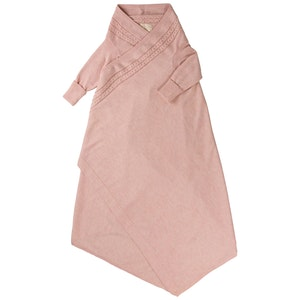 Jujo Baby Cable Edge Shwrap™ - Pink