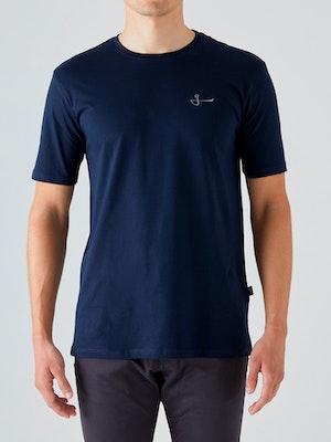 Givelo Navy 100% Peruvian Cotton T-Shirt