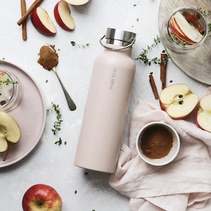 Ever Eco Insulated Drink Bottle 750ml - Rose