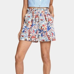 Scotch & Soda Keoni High Waisted Shorts - Combo U