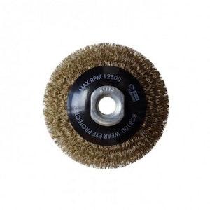 Brumby 100mm Crimped Multi Thread Bevel Brush