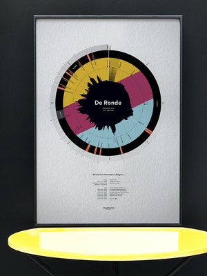 De Ronde - Tour of Flanders - 2017: Limited Edition Print by Massif Central