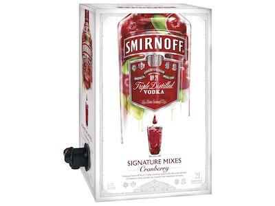 Smirnoff Signature Serves Cranberry 2L