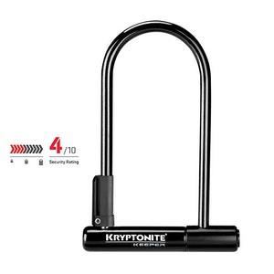 Kryptonite Keeper 12 Standard Key U-Lock Bike Lock