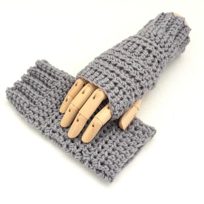 by G  by JoVe Fingerless Gloves pure Australian wool