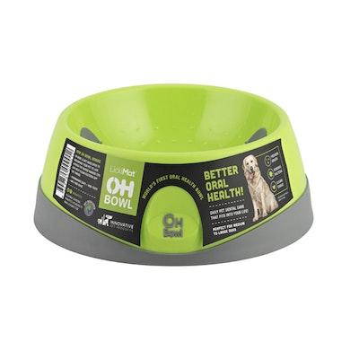 LickiMat Oh Bowl Dental Care Dog Bowl Medium - 2 Colours