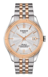 Tissot Ballade Powermatic 80 Silicium with Rose Gold PVD Coating Strap