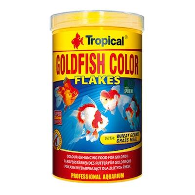 Tropical Goldfish Colour Flakes 50G