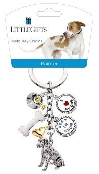 Little Gifts Keyrings - Pointer