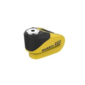 Oxford Quartz XA10 Alarm Disc Lock - Yellow