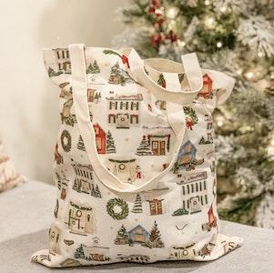 Tote Bag - Christmas Houses