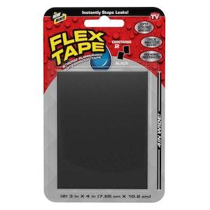 FLEX TAPE TFSBLKMINI Strong Rubberised Waterproof 765 x 102mm BLACK Patch Bond Seal