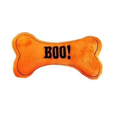 DoggyTopia Boo! Halloween Bone Plush Toy