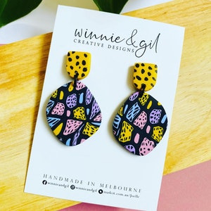 Winnie and Gil Organic dangles