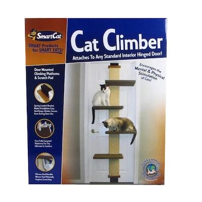 SmartCat Cat Climber & Scratcher w/ Platforms 23 x 60 x 203cm
