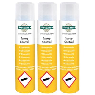 Petsafe Citronella Anti Bark Refill Spray 3 x 80g