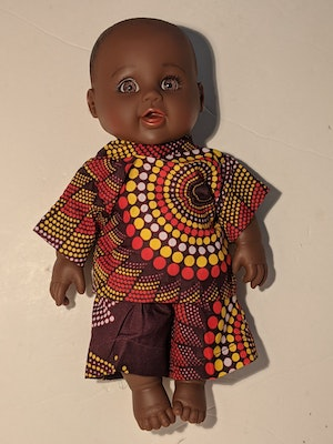 Designed by Florence Uffe Solami Doll