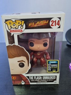 The Flash Unmasked #214 2015 Summer Con Funko Pop - DC Comics