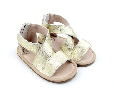 Wildchase Luxe Leather Sandal Collection - Gold