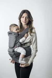 Hipster Smart 3D Baby Carrier - Grey