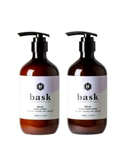 Relax wash & lotion duo