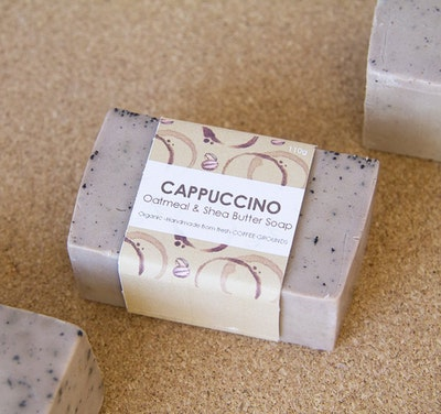 Symbolic Studio Handmade Organic Soap - Cappuccino