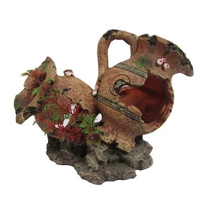 URS Ornament 2 Broken Pots Reptile Accessory Medium