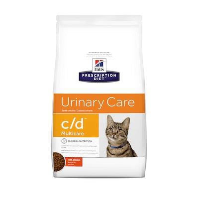 Hill's VET Hill's Prescription Diet C/D Multicare Urinary Care Chicken Dry Cat Food
