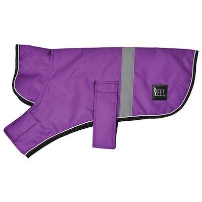 Zeez Dapper Waterproof Dog Coat Royal Purple - 10 Sizes