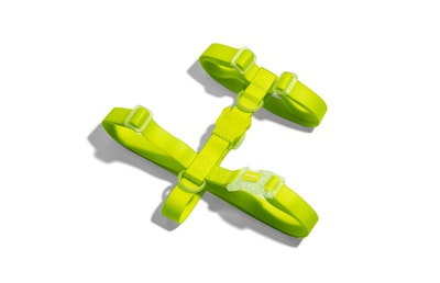 Zee Dog Neopro Adjustable Soft Dog H Harness Yellow - 4 Sizes